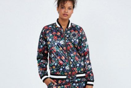 Why the floral bomber is your ultimate workout companion