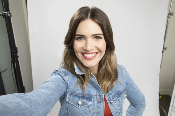 Mandy Moore's got an old-school method for lowering her anxiety