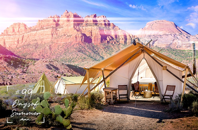 Thumbnail for 7 gorgeous places to go glamping right now