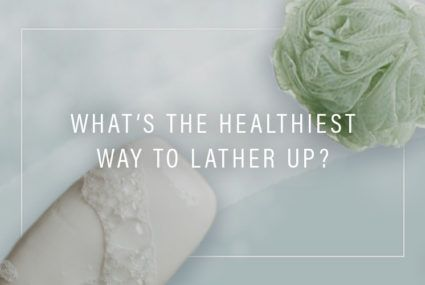 Is body wash or a bar of soap healthier?