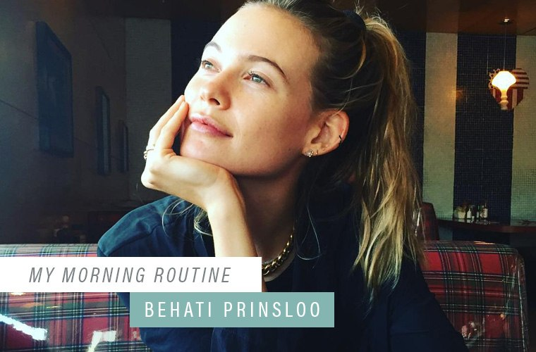 Thumbnail for Why supermodel Behati Prinsloo always works out in the morning