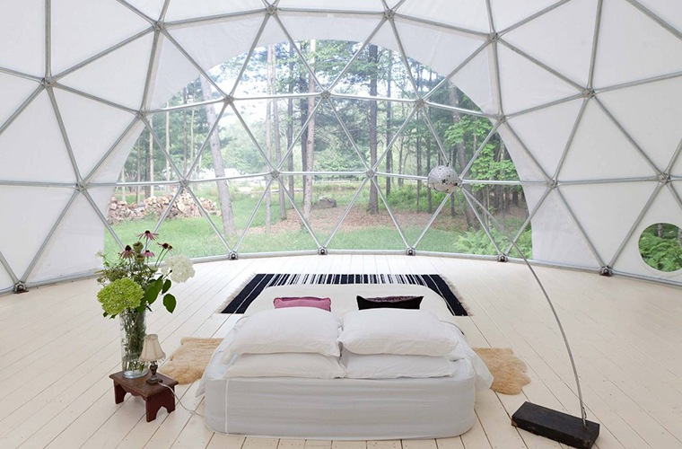 7 Geodesic Domes You Can Book On Airbnb And Vrbo Well Good