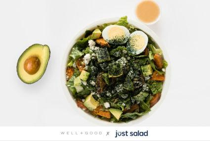 The Well+Good salad is here to solve your sad desk lunch problems