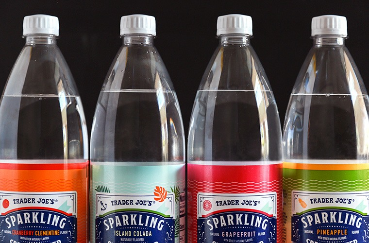 Trader Joe's sparkling water