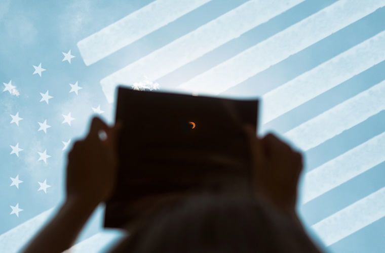 "Thumbnail for Could This Month's ""Great American Eclipse"" Signal Trump's Downfall?"
