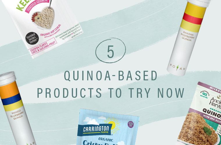Thumbnail for 5 buzzy products that are reinventing the way you eat quinoa