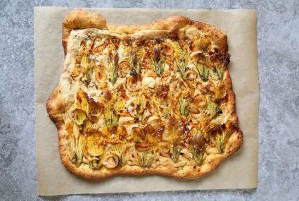 Squash blossom pizza is the summery recipe your taste buds have been waiting for