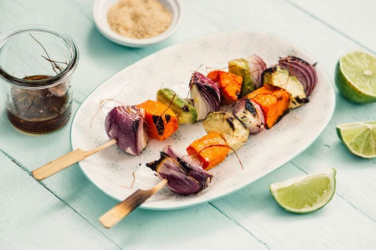 Thumbnail for 9 skewer recipes that are equal parts easy, pretty, and tasty
