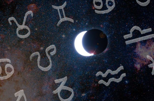 Your horoscope for the solar eclipse is here—and it's a must-read