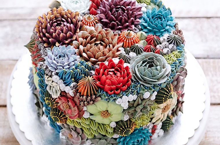 Thumbnail for 9 succulent cakes that look too good to be edible (but they are!)