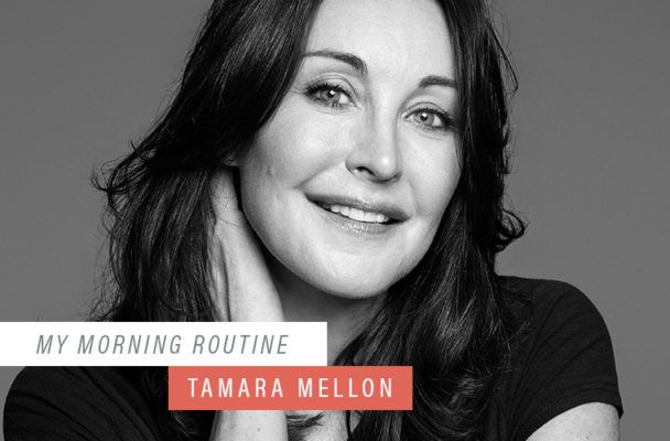 The healthy drinks that get designer Tamara Mellon ready to face the day