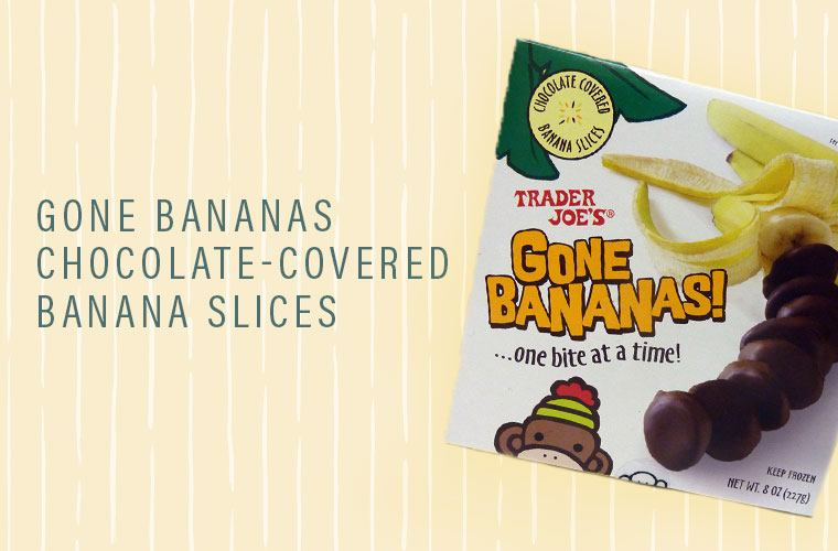 Trader Joe's chocolate covered bananas