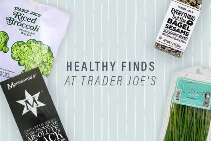 healthy food at Trader Joe's