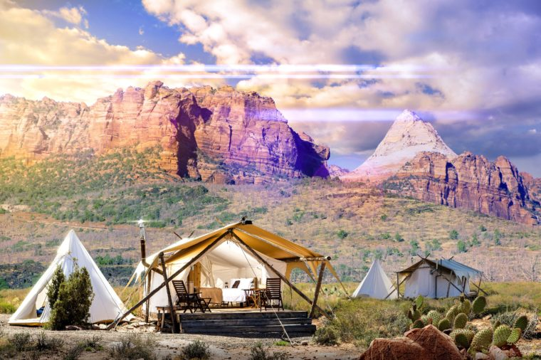 Glamping Under Canvas Zion