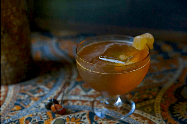 This ACV cocktail is the boozy version of your go-to morning habit