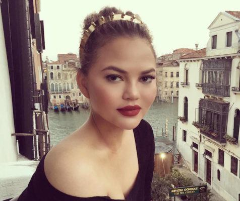 "Why Chrissy Teigen is so over ""boozy brunches"""