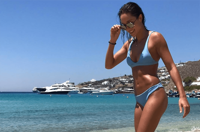 """Thumbnail for Kayla Itsines explains, once and for all, what she really means by that """"bikini body"""" name"""
