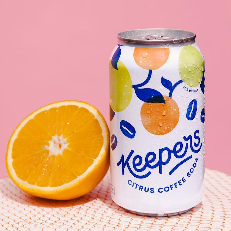 Keepers sparkling coffee