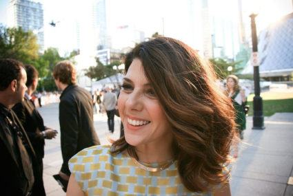 Why Marisa Tomei is all about multitasking in an infrared sauna