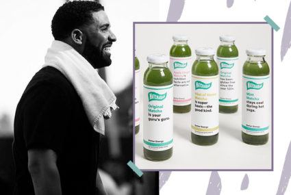Newsflash: Drake is the newest (and most famous) MatchaBar investor