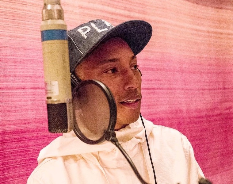 Pharrell's message of love out loud