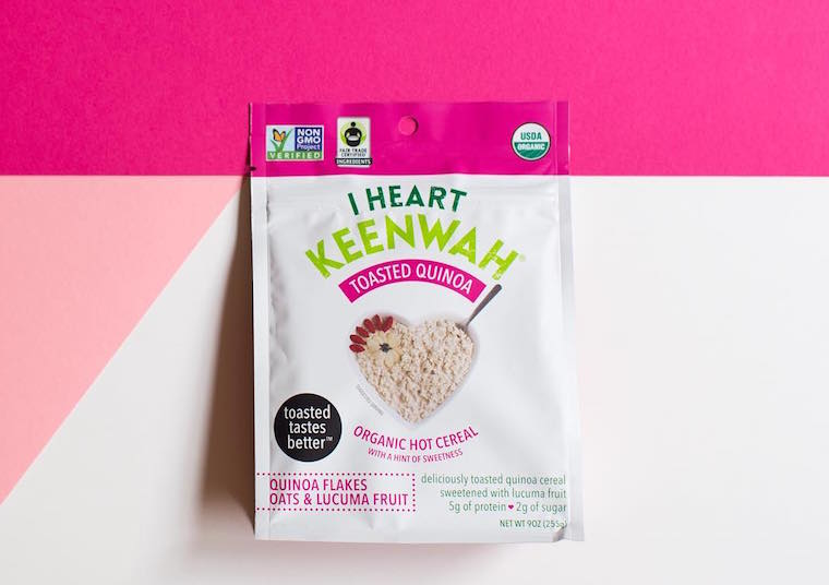 I Heart Keenwah hot cereal