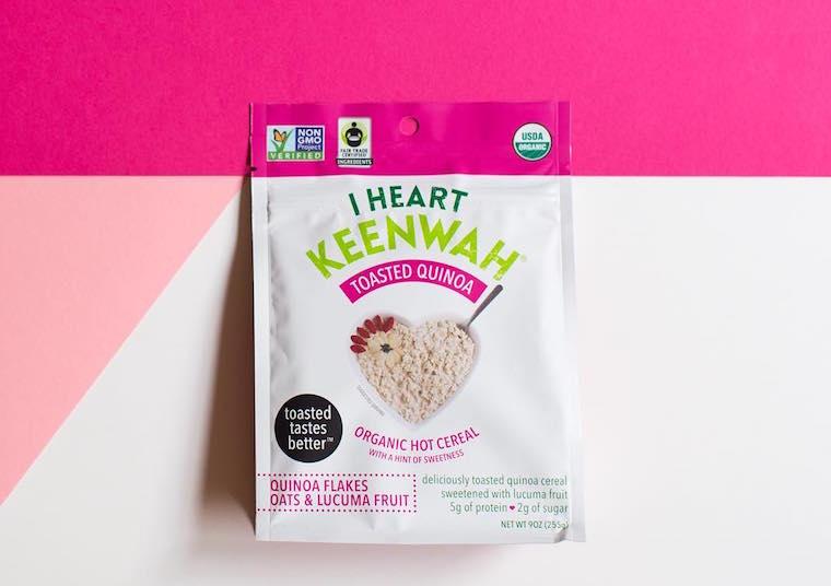 I Heart Keenwah hot cereal
