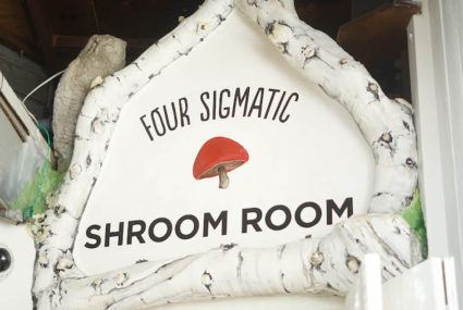 At this healthy hangout, shrooms are on the menu