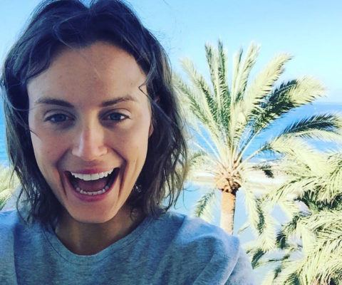 Taylor Schilling's brilliant, mind-clearing morning hack for a good day