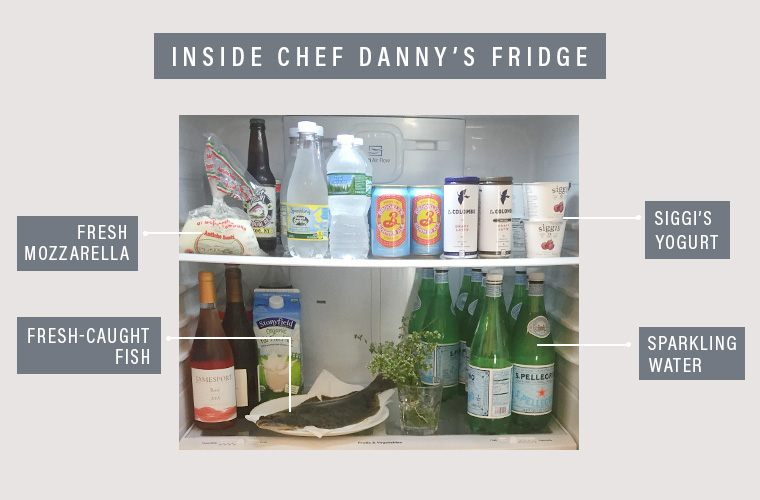 Chef Danny's fridge