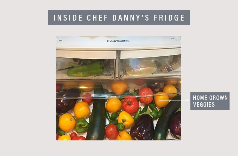 Chef Danny's fridge veggies