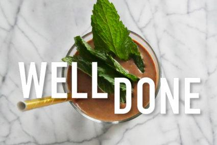 Candice Kumai has figured out how to make healthy chocolate shakes even more amazing