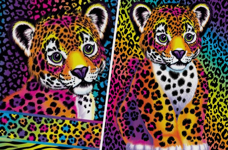 Lisa Frank bedding