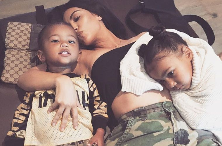 Thumbnail for This health risk led Kim and Kanye to use a surrogate for their third child