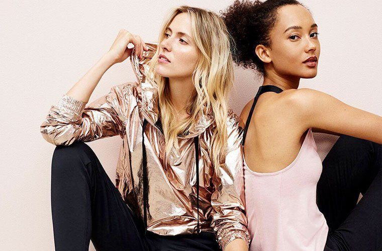 Thumbnail for 17 metallic activewear pieces that'll make you look like a rare gem