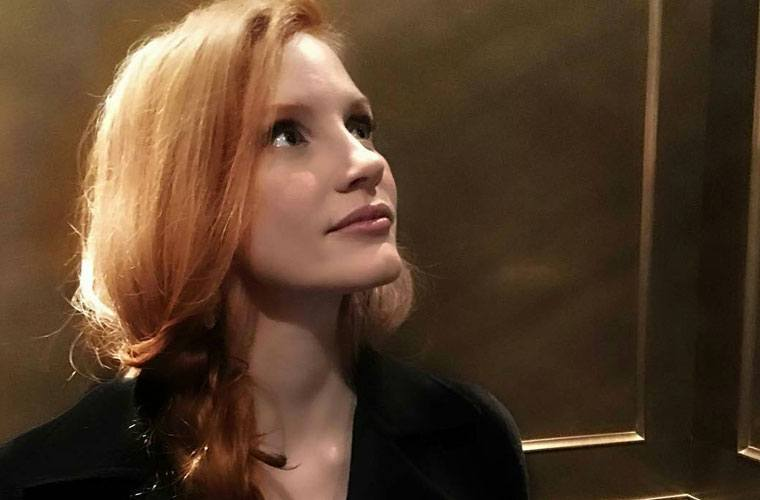 jessica chastain plane skin care secret