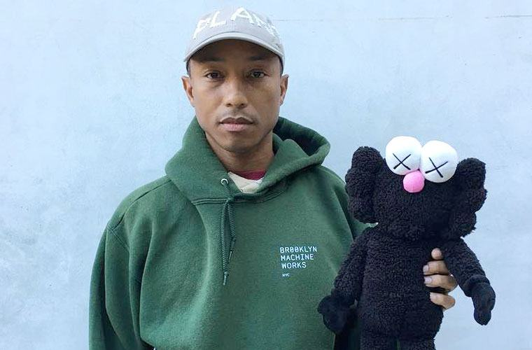 Thumbnail for Pharrell Williams keeps his skin glowing with these two simple secrets