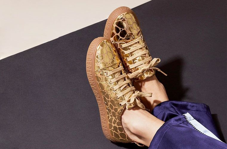 Thumbnail for 12 snakeskin sneakers to give your look a sexy edge this fall