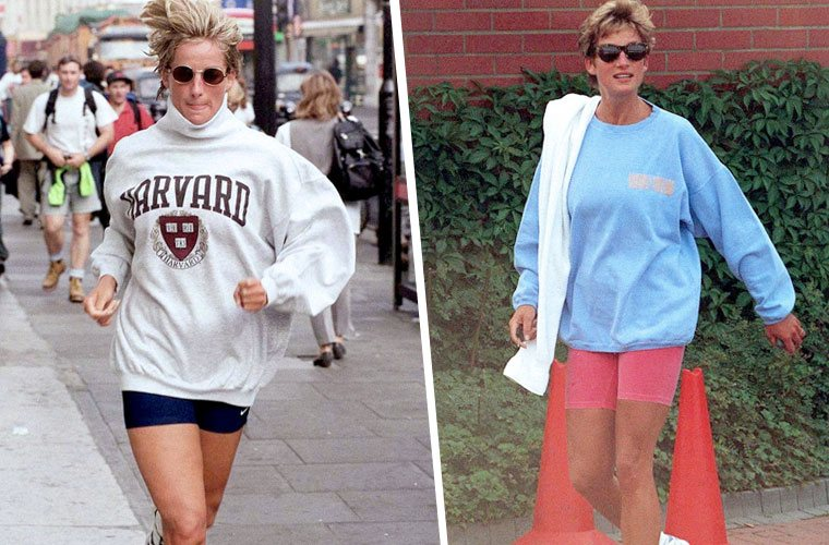 Thumbnail for Princess Diana's bike shorts inspired this Paris Fashion Week show