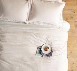 Thumbnail for 10 comforters for a serene and hygge-ready bedroom