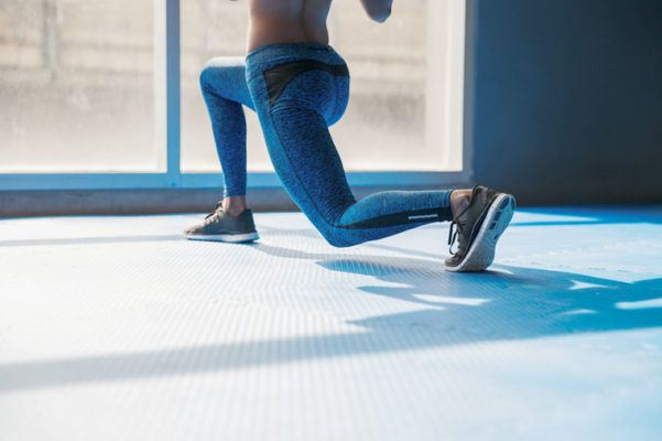 Here's the secret to lunges that strengthen *and* lengthen