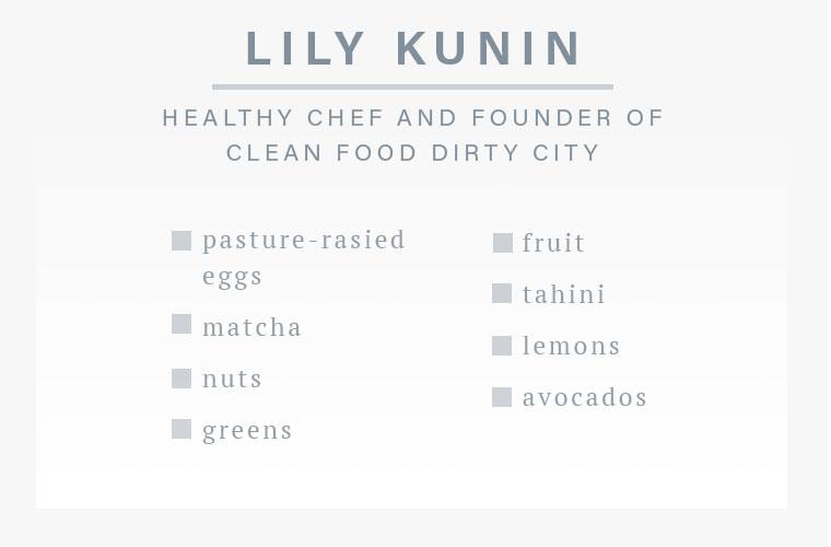 Good Clean Food Lily Kunin