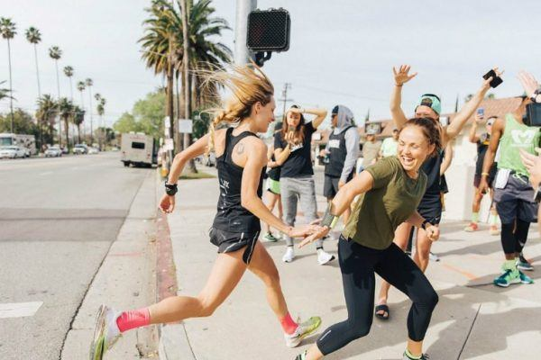 how often should you run with friends