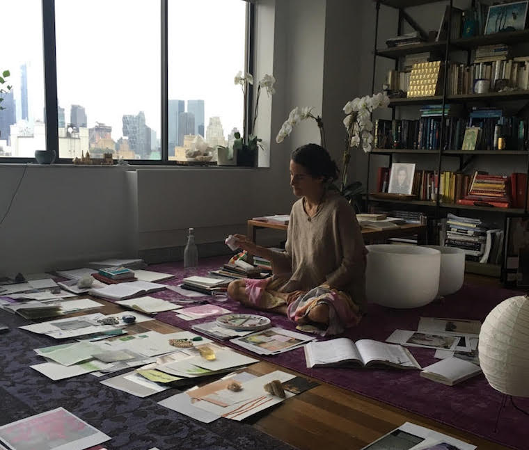 Thumbnail for 3 ways visual journaling can change your life, according to yoga luminary Elena Brower