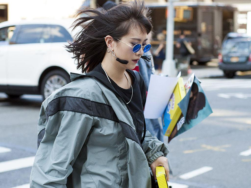 Thumbnail for 18 of the best sporty street style looks from New York Fashion Week