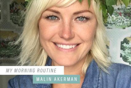 The one trick Malin Akerman swears by when she's feeling overwhelmed