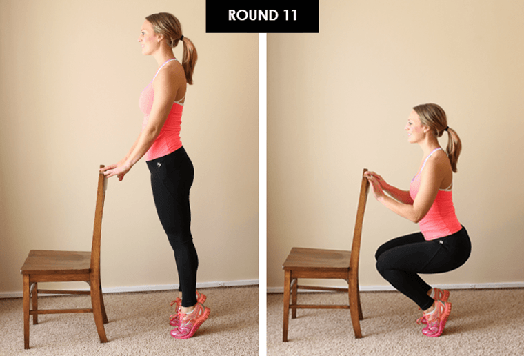 Fit Foodie Finds Lee Hersh desk chair workout