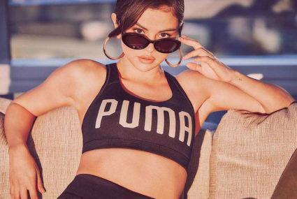 Selena Gomez's new Puma collab will give you serious velvet flashback feels