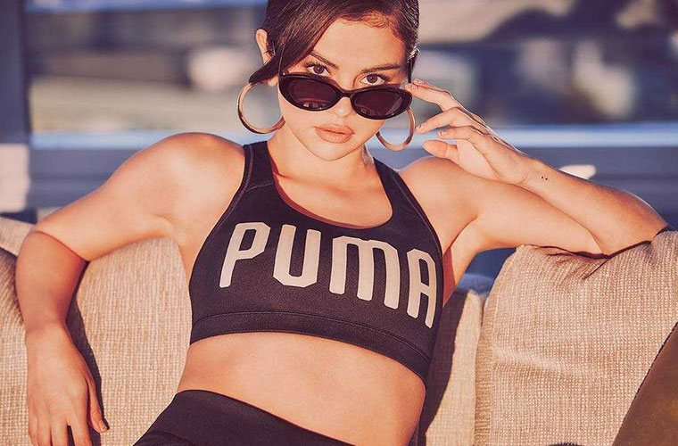 Thumbnail for Selena Gomez's new Puma collab will give you serious velvet flashback feels