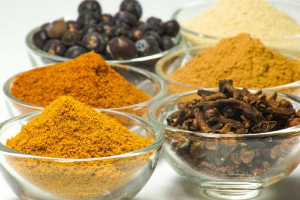 spices may be made with gluten